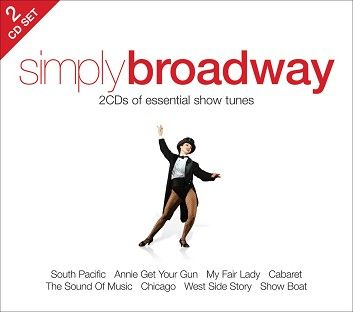Various - Simply Broadway (2CD / Download) - CD