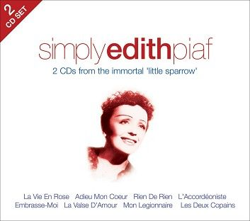 Edith Piaf - Simply Edith Piaf (2CD) - CD
