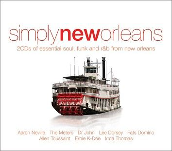 Various - Simply New Orleans (2CD) - CD