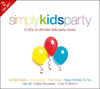 Various - Simply Kids Party (2CD / Download) - CD