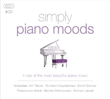 Various - Simply Piano Moods (4CD) - CD