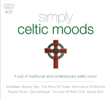 Various - Simply Celtic Moods (4CD) - CD