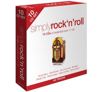 Various - Simply Rock n Roll (10CD) - CD