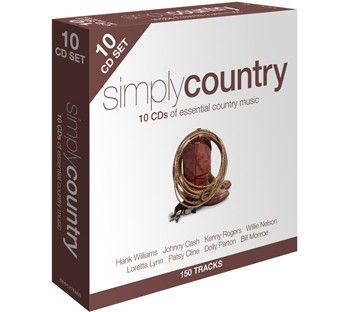 Various - Simply Country (10CD) - CD