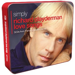 Richard Clayderman - Simply Richard Clayderman Love Songs (3CD) - CD