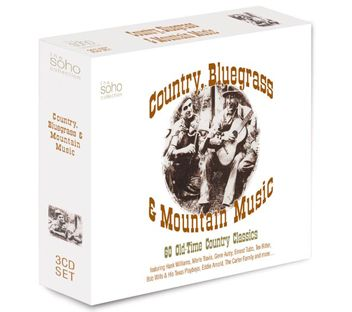 Various - Country, Bluegrass And Mountain Music (3CD) - CD