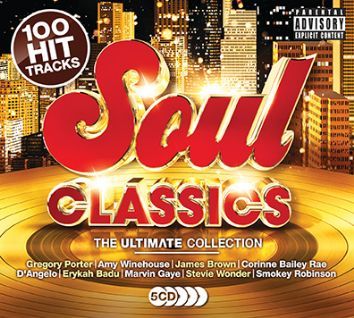 Various - Ultimate Soul Classics (5CD) - CD