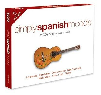 Various - Simply Spanish Moods (2CD / Download) - CD