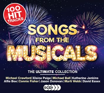 Various - Songs From The Musicals (5CD) - CD