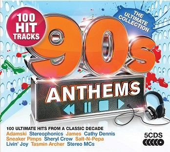 Various - 90s Anthems - The Ultimate Collection (5CD) - CD