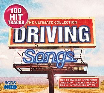 Various - Driving Songs - The Ultimate Collection (5CD) - CD