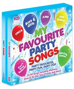 Various - My Favourite Party Songs (3CD / Download) - CD