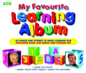 Various - My Favourite Learning Album<br>(3CD / Download) - CD
