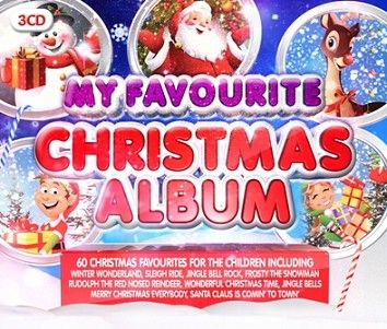 Various - My Favourite Christmas Album (3CD / Download) - CD