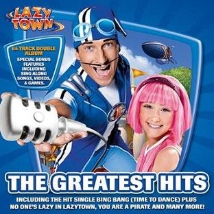 LazyTown - The Greatest Hits (2CD Enhanced) - CD