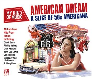 Various - My Kind Of Music - American Dream  (2CD) - CD