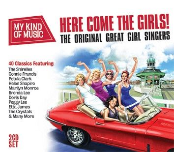 Various - My Kind Of Music: Here Come The Girls (2CD) - CD