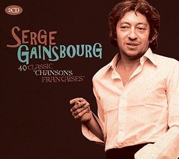 Serge Gainsbourg - 2CDs of Classic Chansons Françaises (2CD) - CD