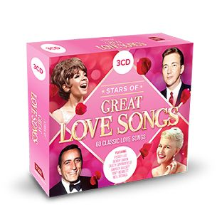 Various - Stars Of Great Love Songs (3CD) - CD
