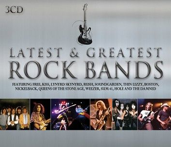 Various - Latest & Greatest Rock Bands - CD