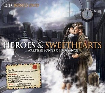 Various - Heroes & Sweethearts Vol2 (2CD+DVD) - CD