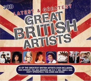 Various - Latest & Greatest Great British Artists (3CD) - CD