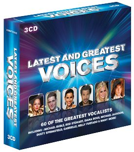 Various - Latest & Greatest Voices (3CD) - CD
