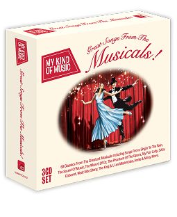 Various - My Kind Of Music - Great Songs From The Musicals! (CD / Download) - CD
