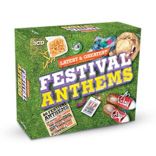 Various - Latest & Greatest Festival Anthems (3CD) - CD