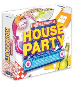 Various - Latest & Greatest House Party (3CD) - CD