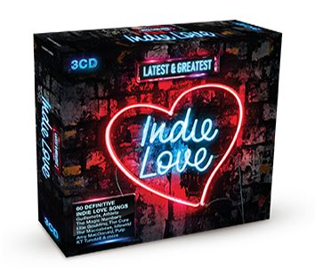 Various - Latest & Greatest Indie Love (3CD) - CD