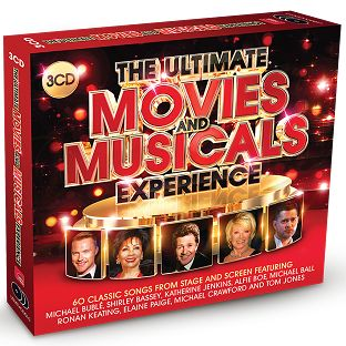 Various - The Ultimate Movies & Musicals Experience (3CD / Download) - CD