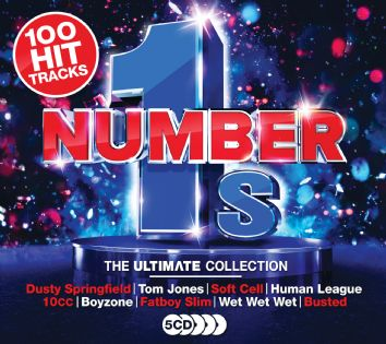 Various - Ultimate Number Ones (5CD) - CD