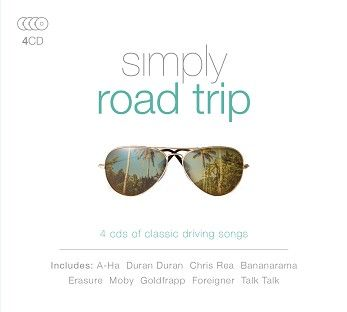 Various - Simply Road Trip (4CD) - CD